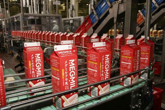 雪印メグミルク工場