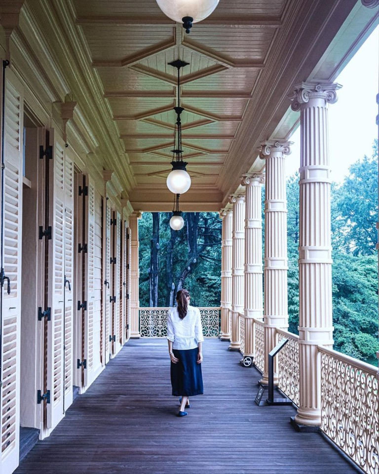 旧岩崎邸庭園