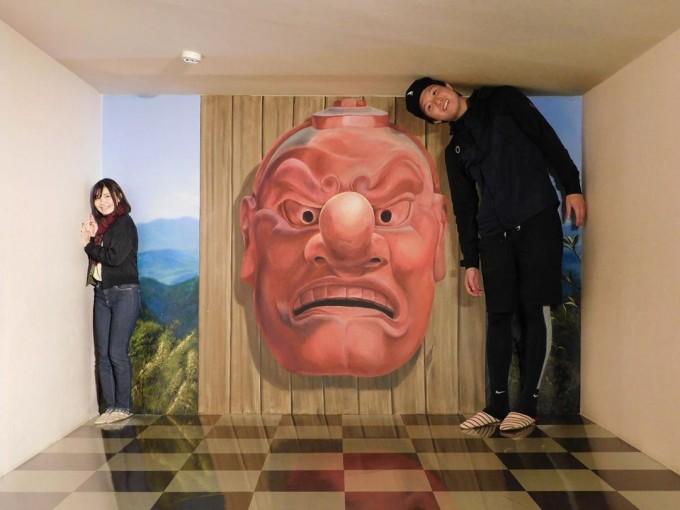 高尾山 トリックアート美術館