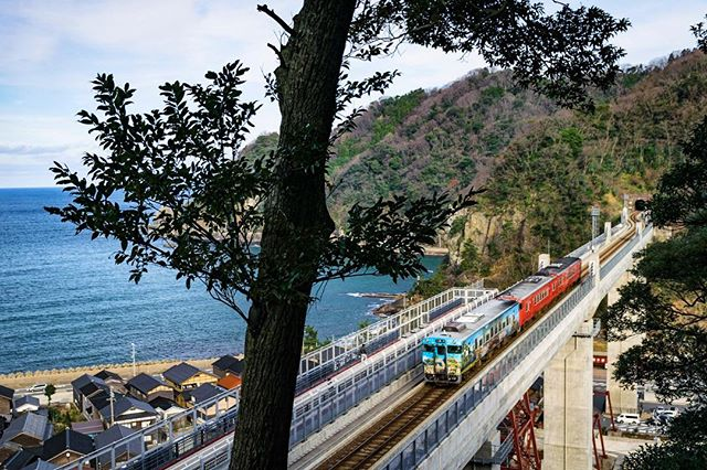 余部鉄橋(空の駅)