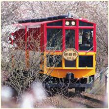 嵯峨野観光鉄道(トロッコ)