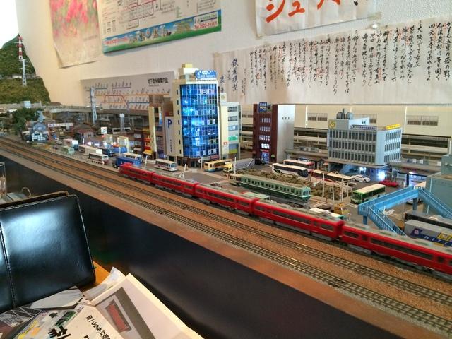 鉄道模型カフェ・浪漫