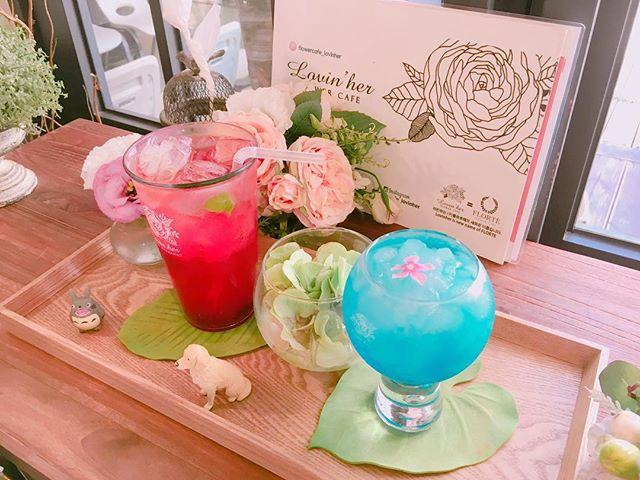 flower cafe Lovin' her