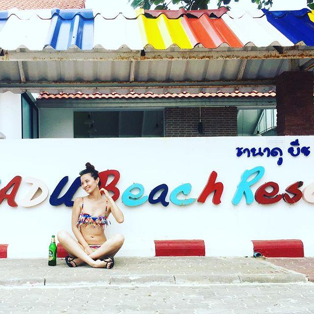 ラン島のセームビーチ (Samae Beach/Lan island)