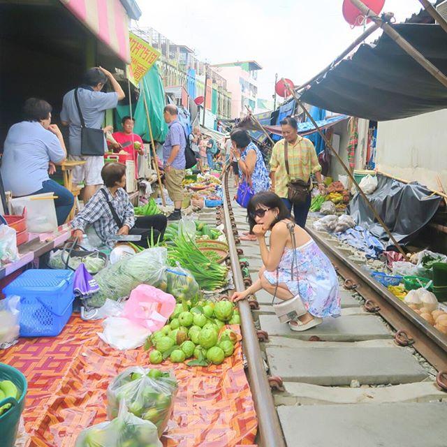メークロン市場 / Mae Klong Market