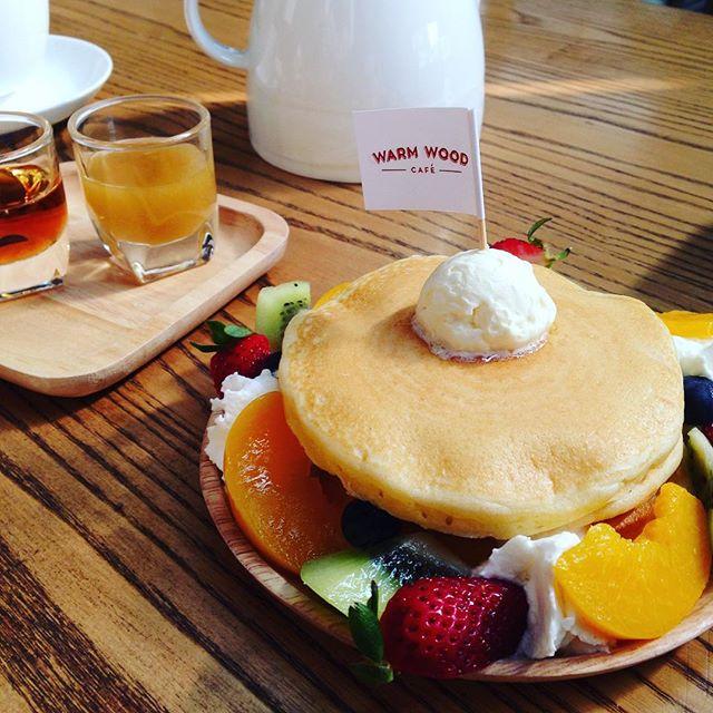 Warm wood café / ウォーム・ウッド・カフェ