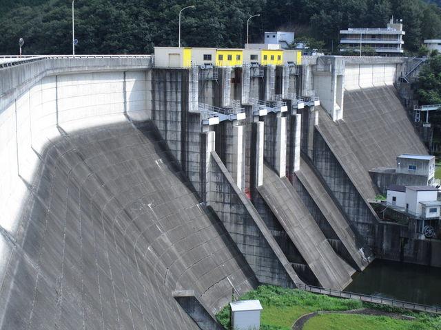 土師ダム(八千代湖)