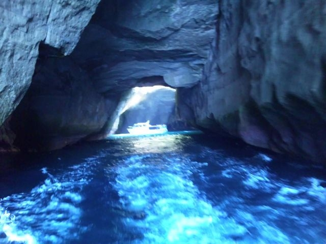 堂ヶ島洞窟めぐり遊覧船
