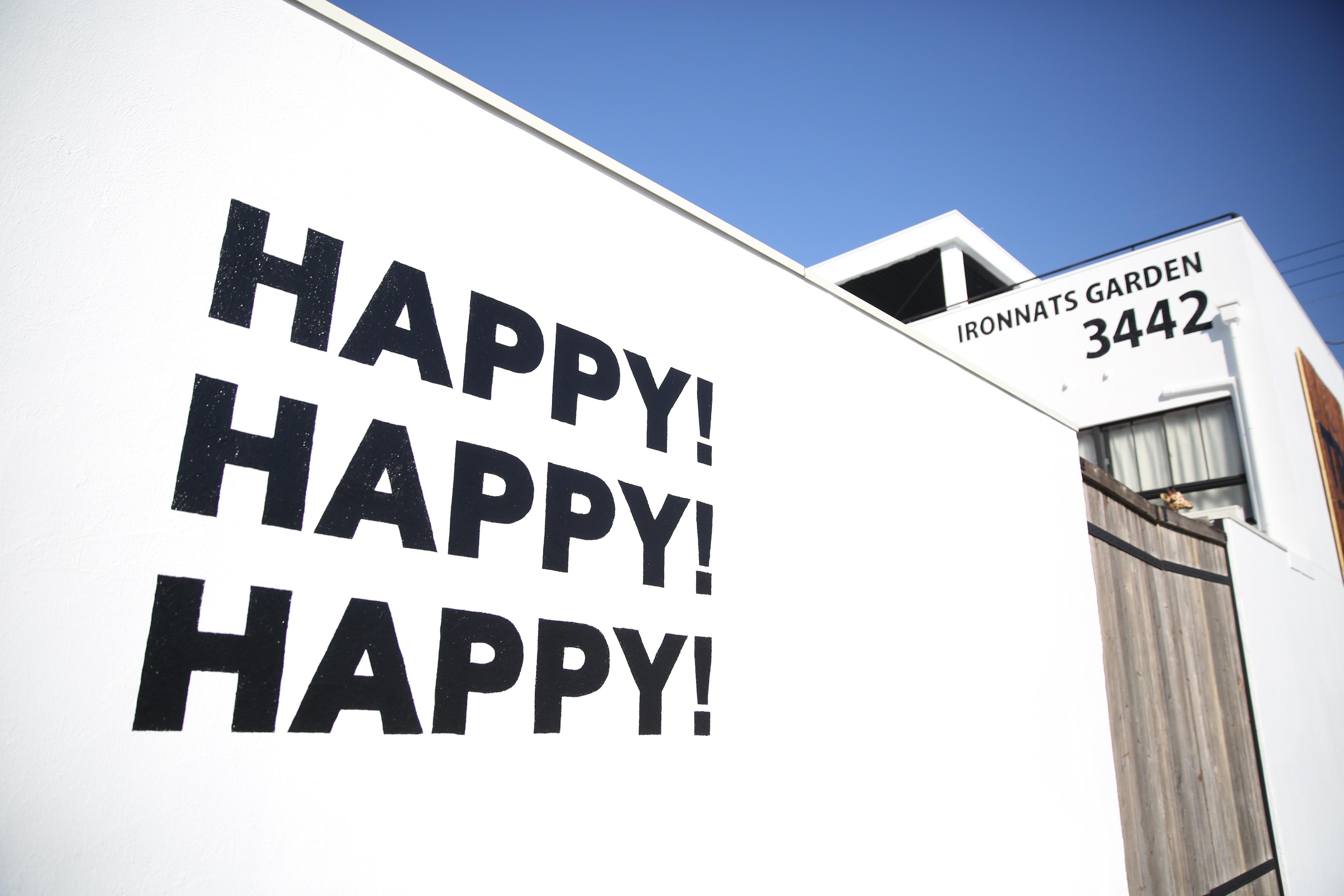 IRON NATS 幸せの壁