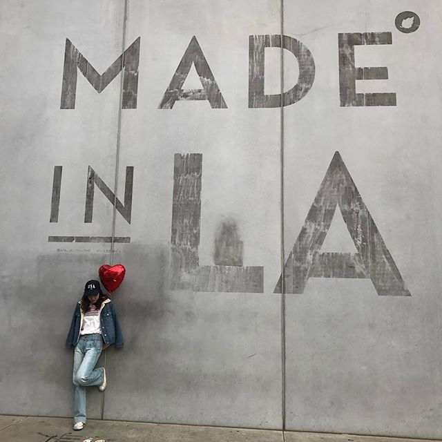 MADE IN LA の壁