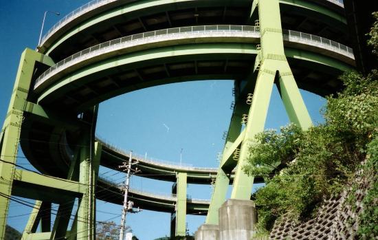 河津七滝高架橋(河津ループ橋)