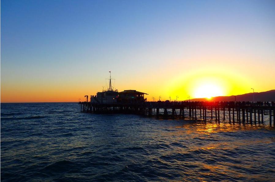 サンタモニカビーチ / Santa Monica Beach