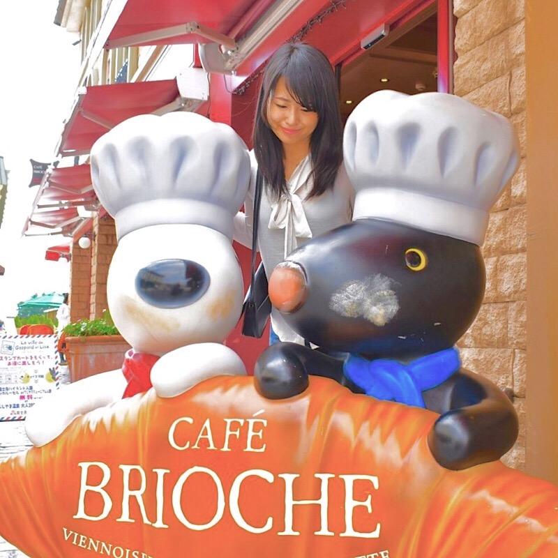 リサとガスパールタウンのCAFÉ BRICOCHE
