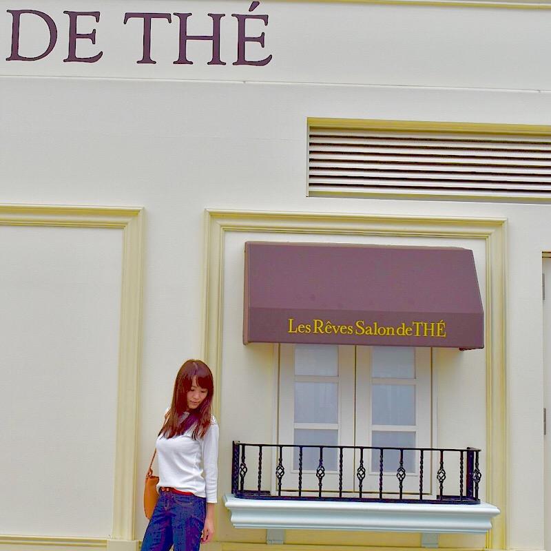 リサとガスパールタウンの白い外壁