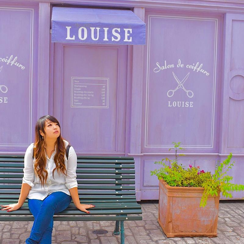 リサとガスパールタウンのLOUISE
