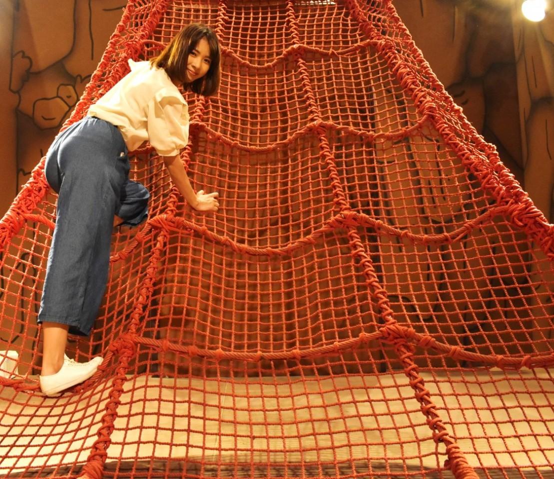 【閉鎖】かいけつゾロリの網登り