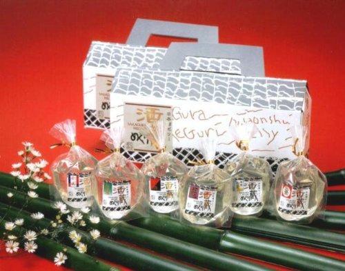 日本酒ゼリー酒蔵めぐり