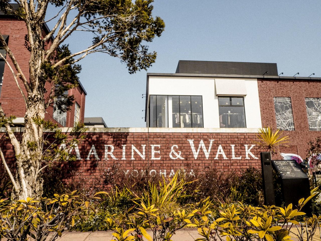 MARINE&WALK横浜看板
