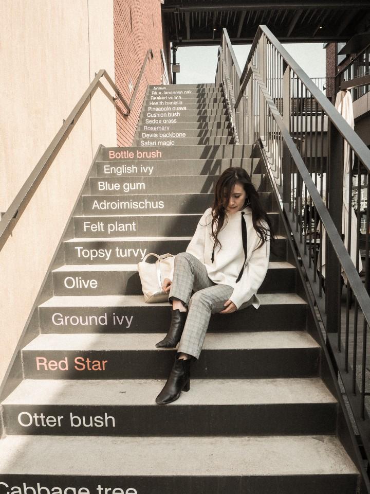 階段アート