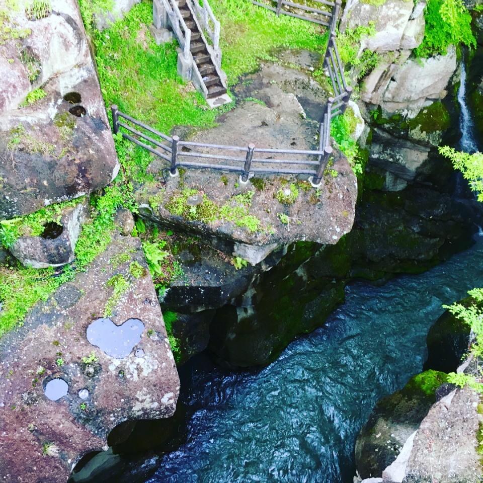 磊々峡 覗橋