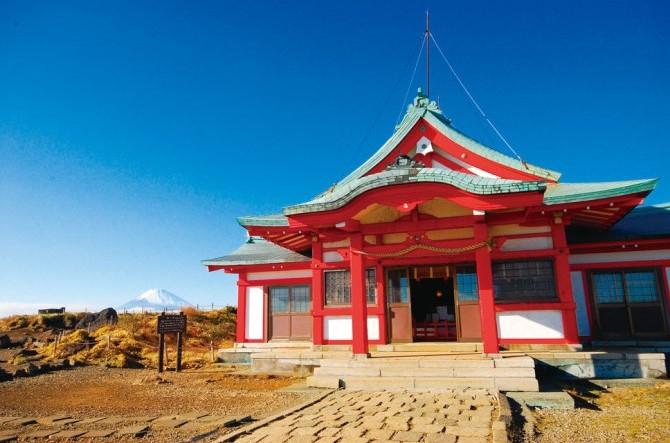 箱根神社の奥宮(箱根元宮)