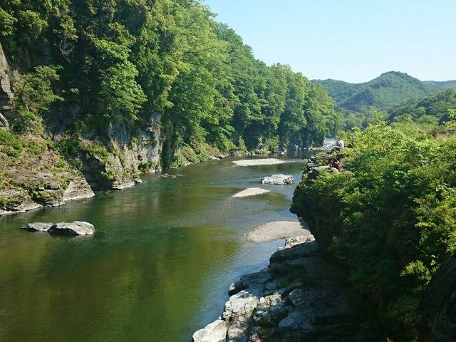 県立長瀞玉淀自然公園(長瀞岩畳)