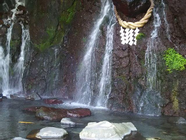 玉簾の瀧・飛烟の瀧