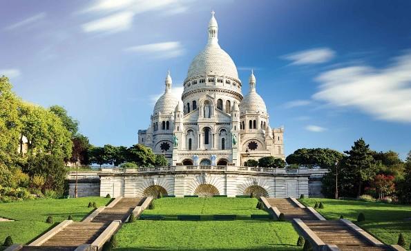 モンマルトルとサクレ・クール寺院