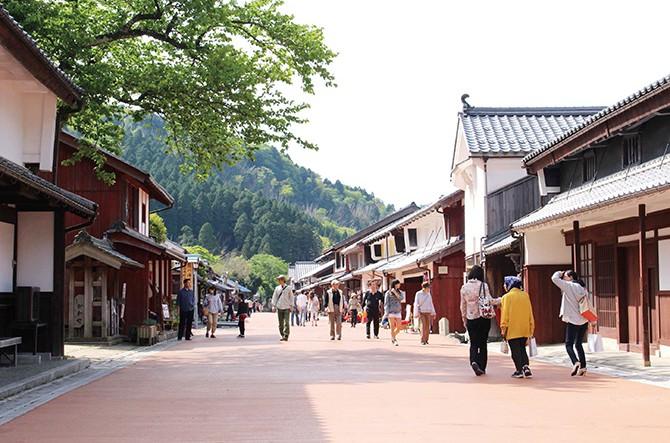 鯖街道の熊川宿