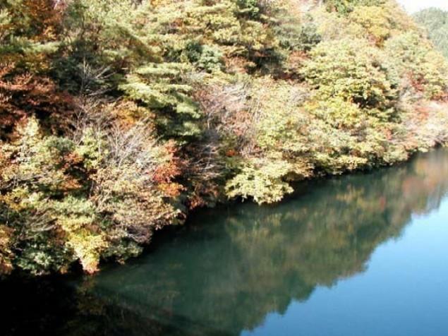 生野銀山湖