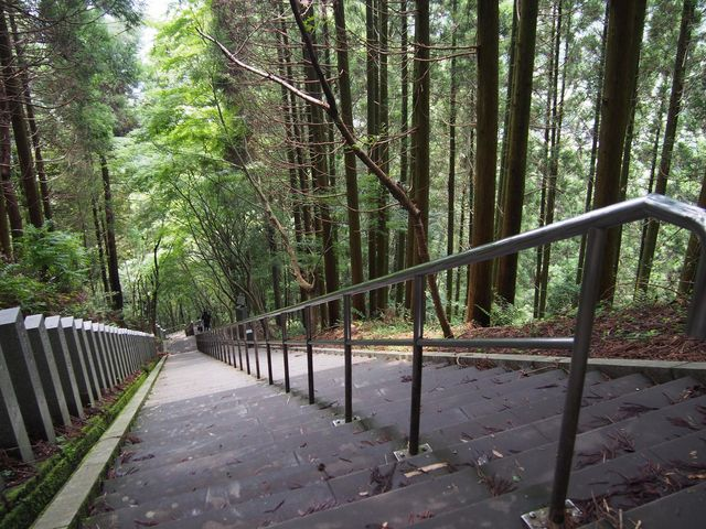釈迦院御坂遊歩道(日本一の石段)