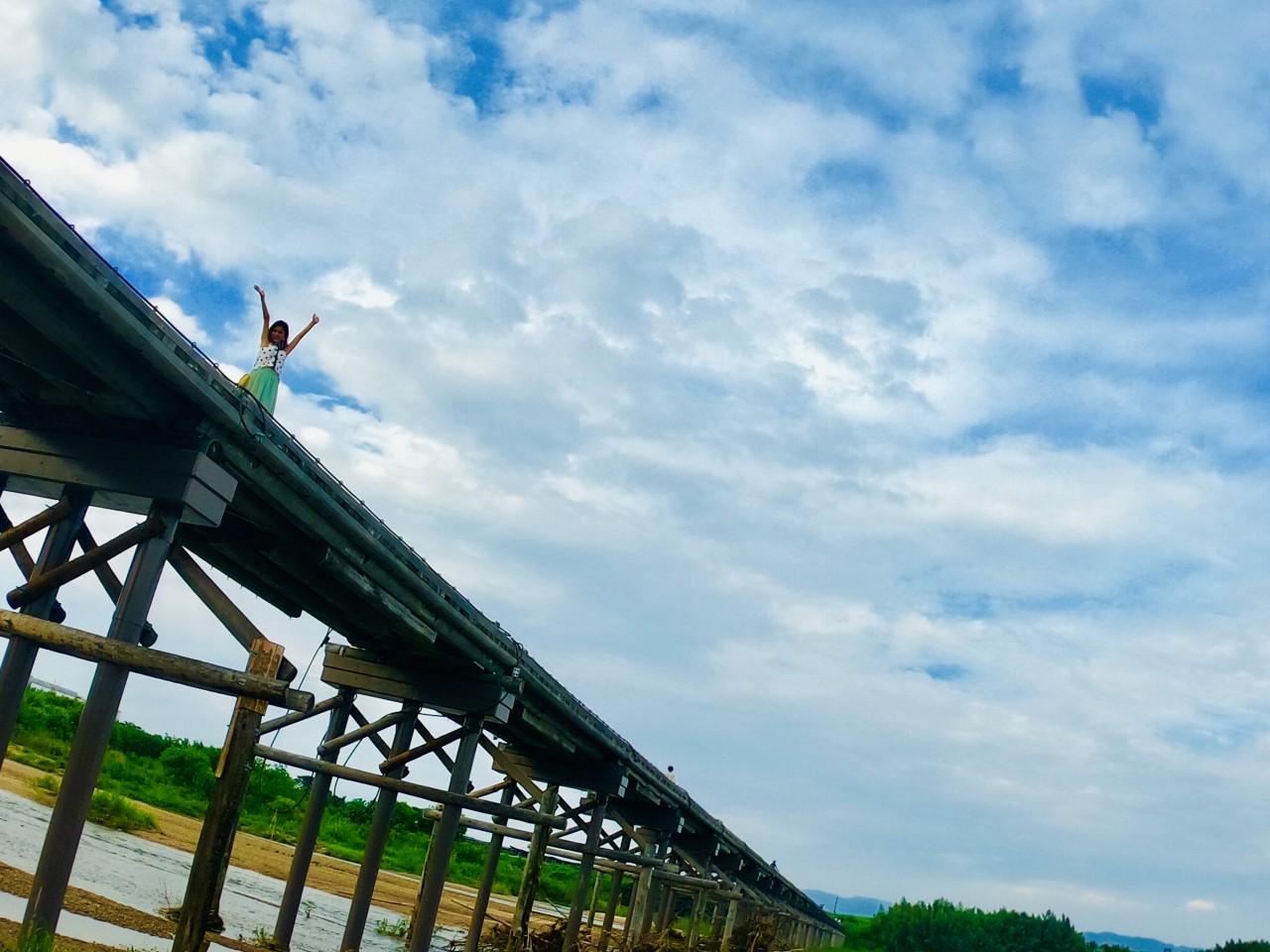 上津屋橋(流れ橋)