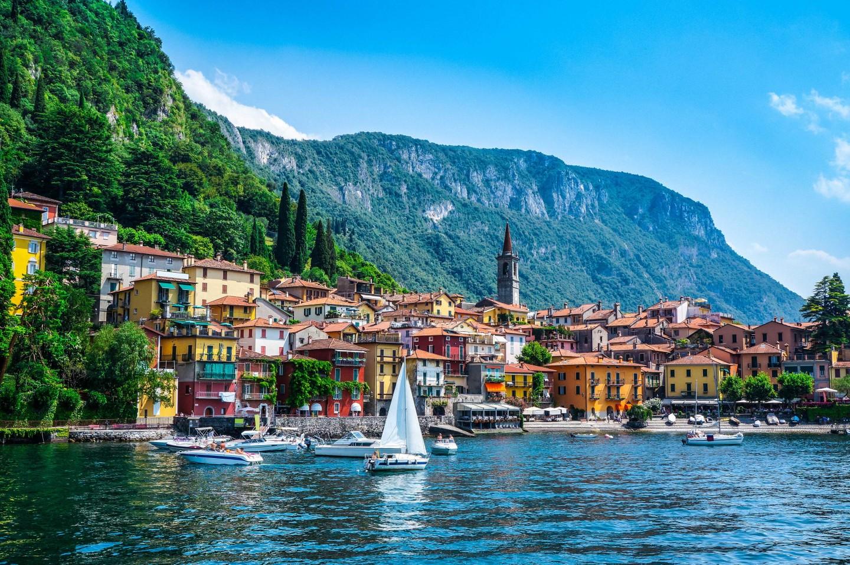 Lago di Como(コモ湖)