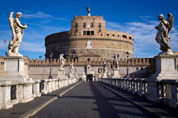 Castel Sant'Angelo(サン・タンジェロ城)