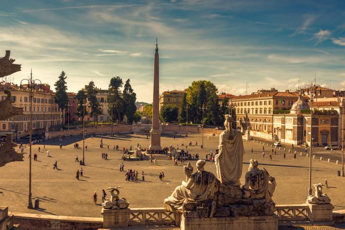 Piazza del Popolo(ポポロ広場)