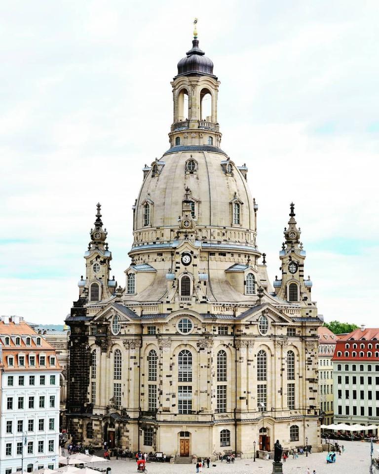 Dresden Frauenkirche(フラウエン教会)