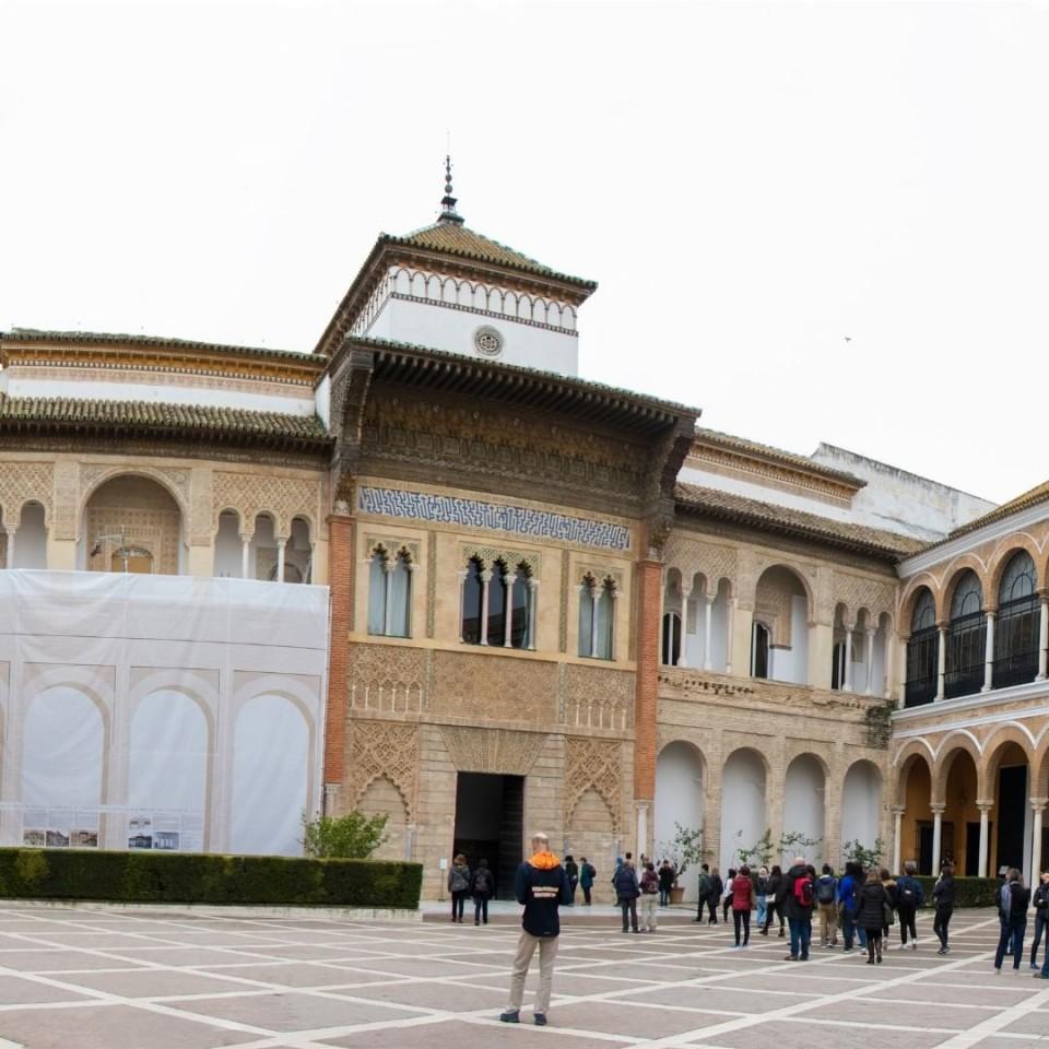 Real Alcázar de Sevilla(レアルアルカサール)