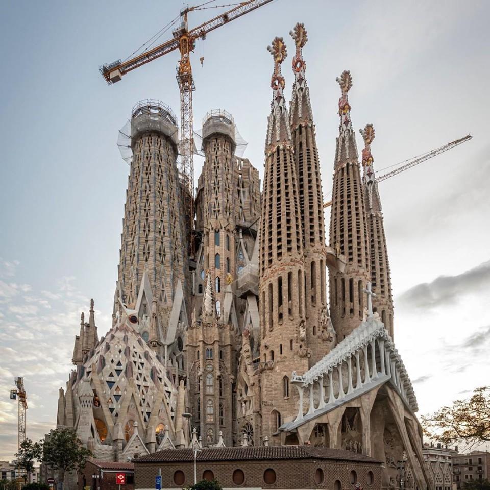 Temple Expiatori de la Sagrada Família(サグラダファミリア)