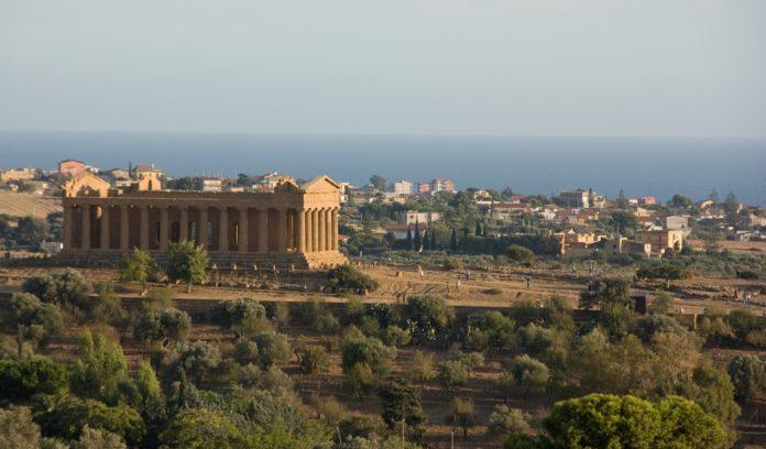 Valle dei Templi di Agrigento(アグリジェントの神殿の谷)