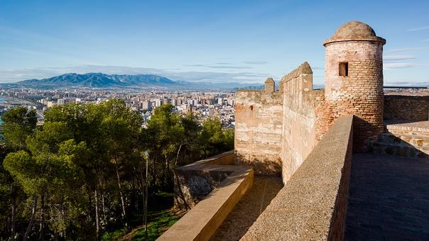 Castillo de Gibralfaro(ヒブラルファロ城)