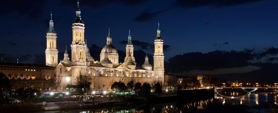 Basílica de Nuestra Señora del Pilar de Zaragoza(ヌエストラセニョーラ・デ・ピラール聖堂)