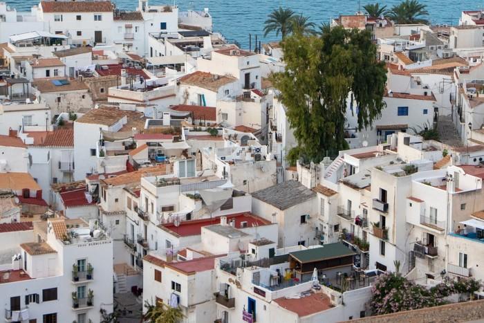 Eivissa(イビサ旧市街)