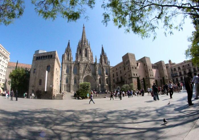 Catedral de Barcelona(バルセロナ大聖堂)