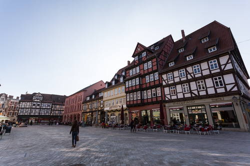 Collegiate Church, Castle, and Old Town of Quedlinburg(クヴェードリンブルクの聖堂参事会教会、城と旧市街)