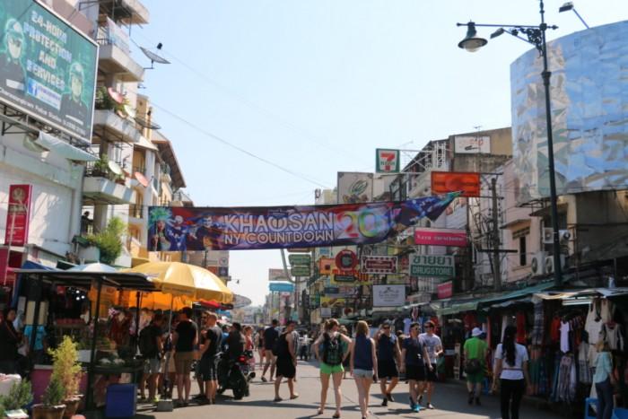 ถนนข้าวสาร(カオサン通り)
