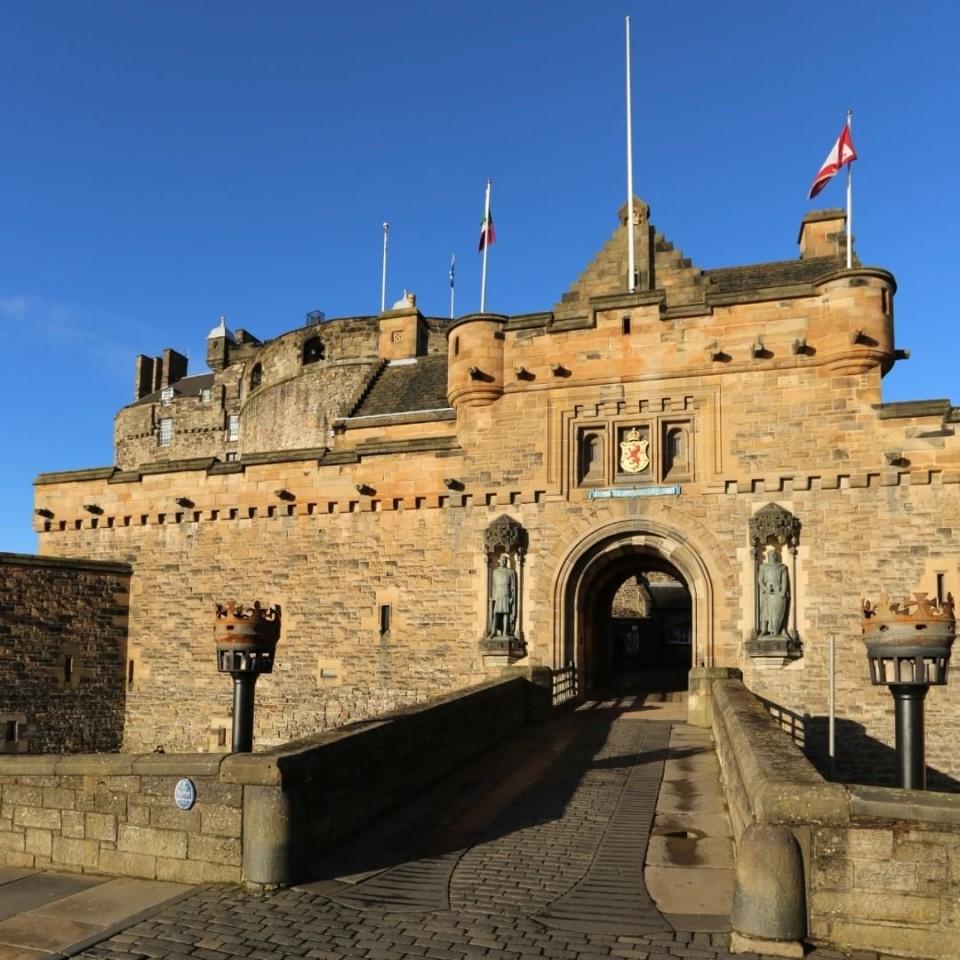 Edinburgh Castle(エディンバラ城)