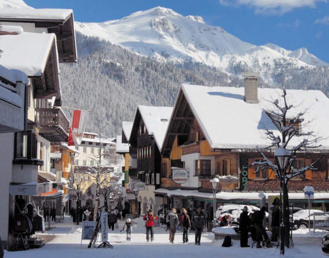 Sankt Anton am Arlberg(ザンクトアントン)