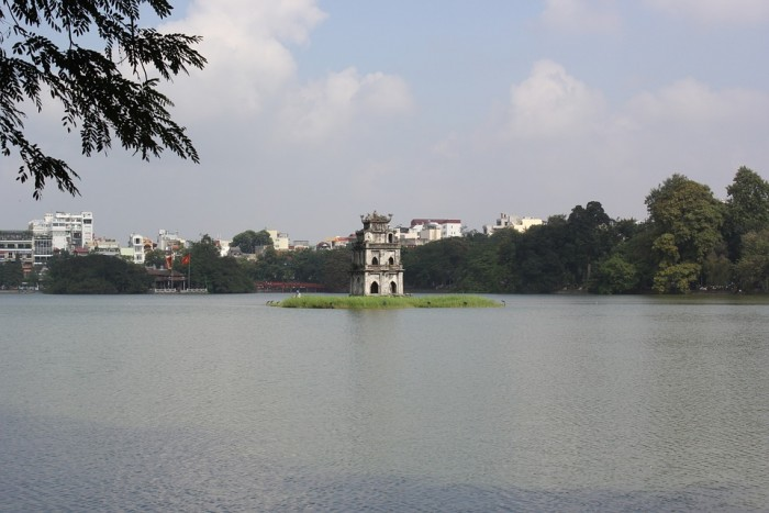 Hồ Hoàn Kiếm(ホアンキエム湖)