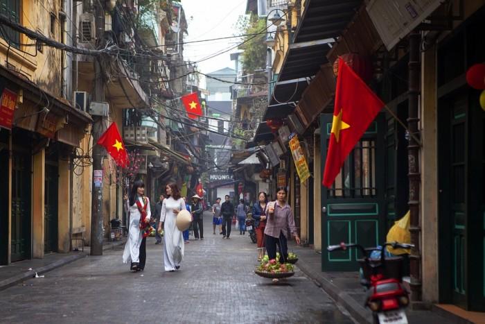 Khu phố Hà Nội(ハノイ旧市街)