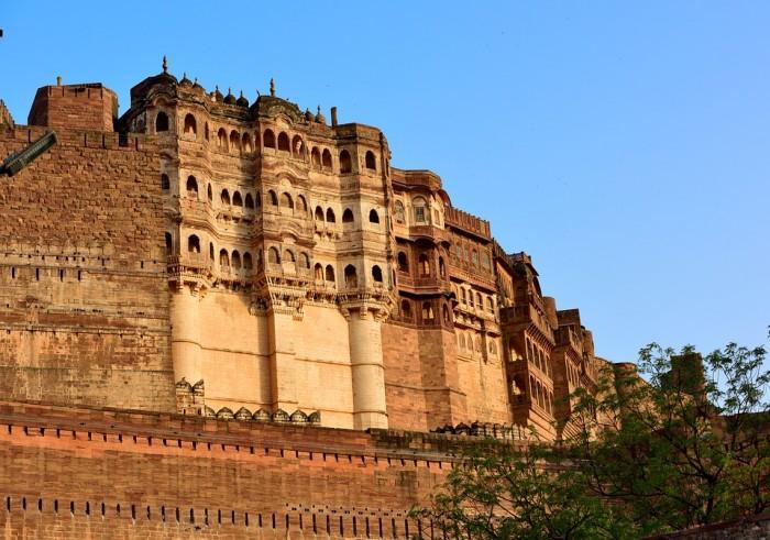 मेहरानगढ़ का किला(メヘラーンガル砦)